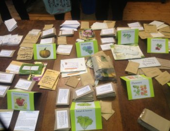 Connected Seeds Library. Photo: Sara Heitlinger