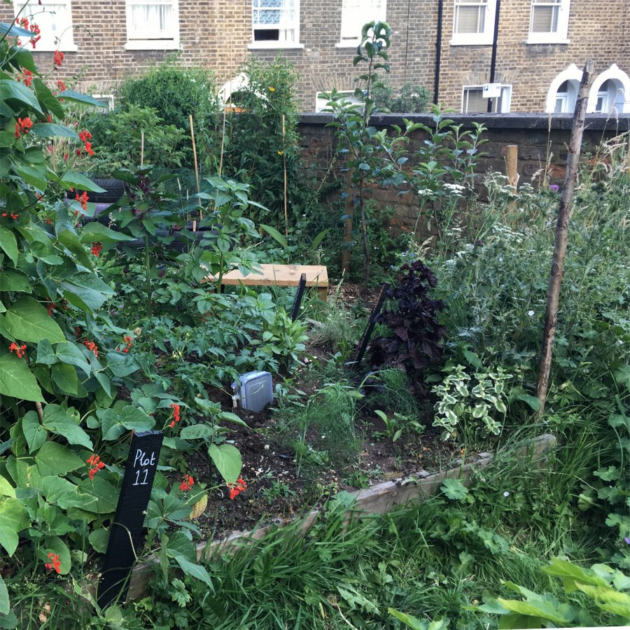 Cordwainers Garden, Hackney. Photo: Sara Heitlinger