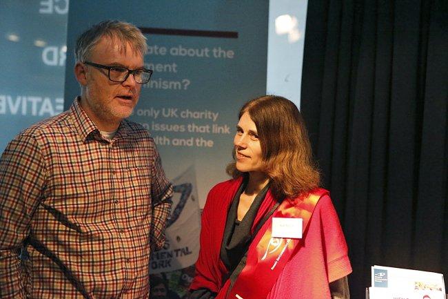 Kate Metcalf, Women's Environmental Network. Photo: Andraž Purg